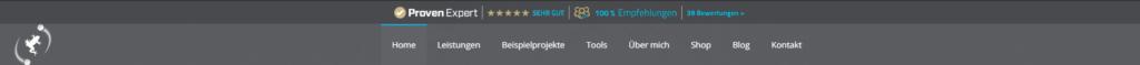 Quantenfrosch Website-Header