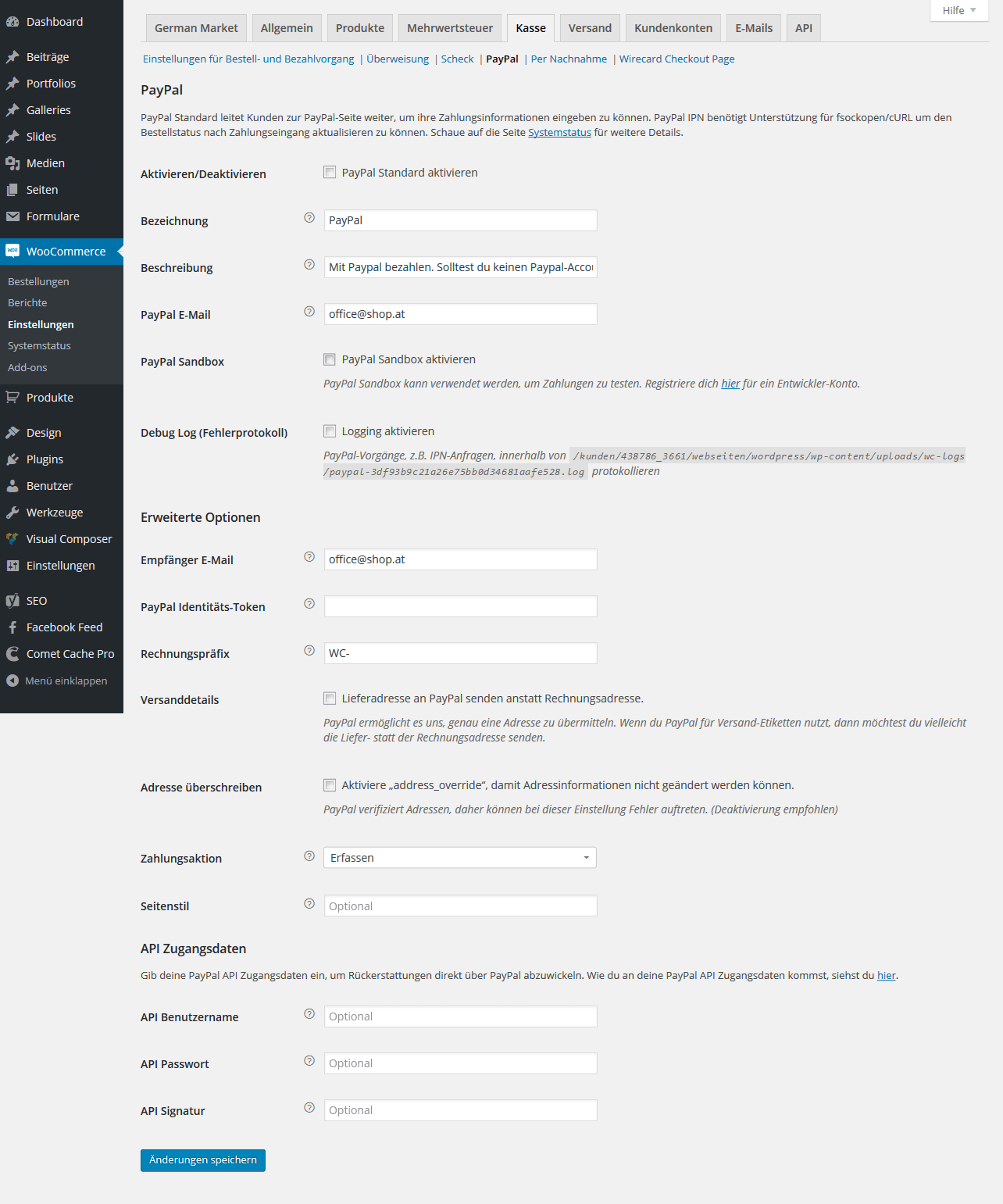 WooCommerce Paypal Integration
