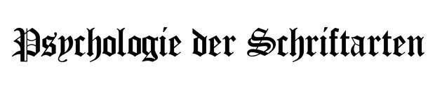 Gotische Schriftarten