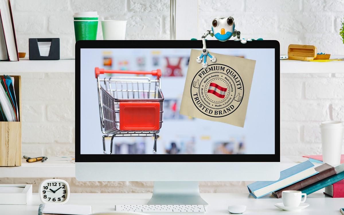 Gütesiegel für österreichische Online Shops. Der Internethandel ... d4f2b3b0eec