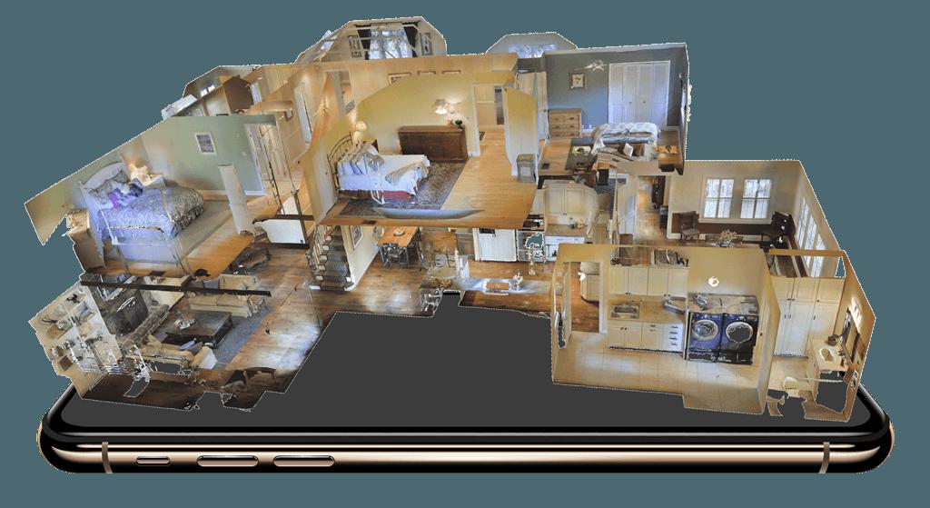 3D Modell auf Handy