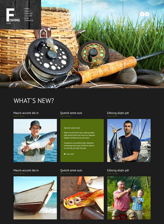 Wordpress Theme Angeln