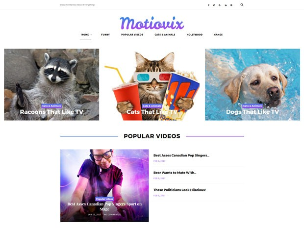 Wordpress Theme Nachrichtenportal
