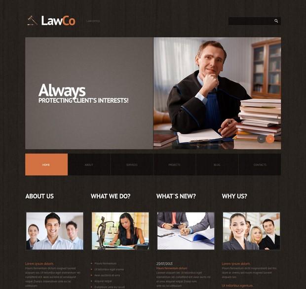 Wordpress Theme Rechtsanwalt