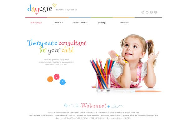 Wordpress Theme Tagespflege