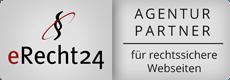 e-recht24 Partneragentur Siegel