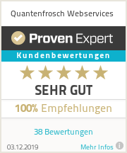 Proven Expert Ratings Widget