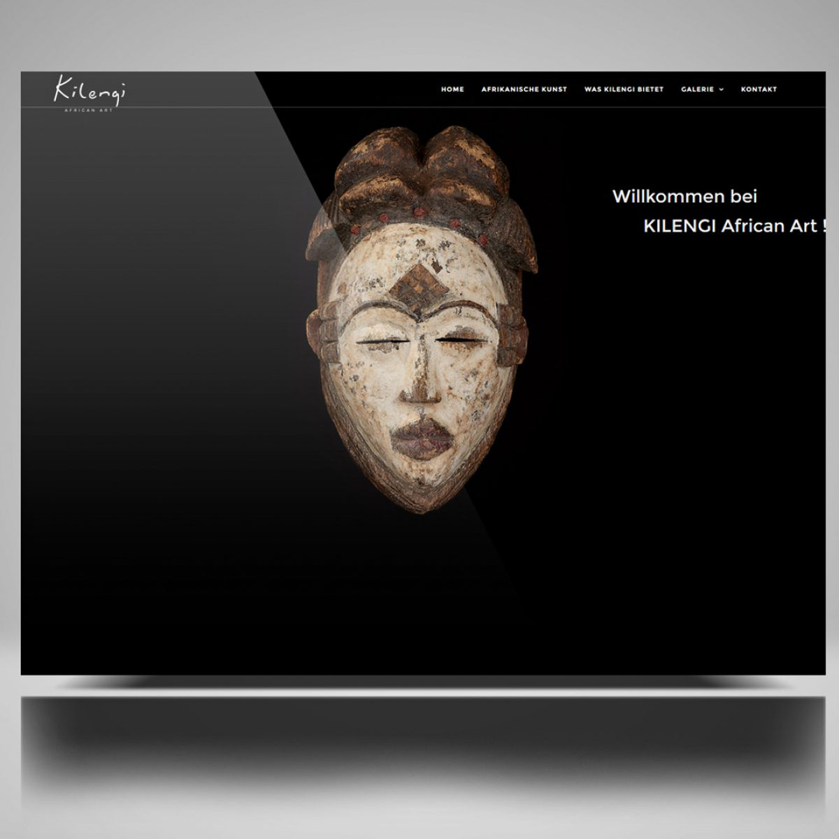 Webdesign Beispielprojekt Kilengi Africat Art