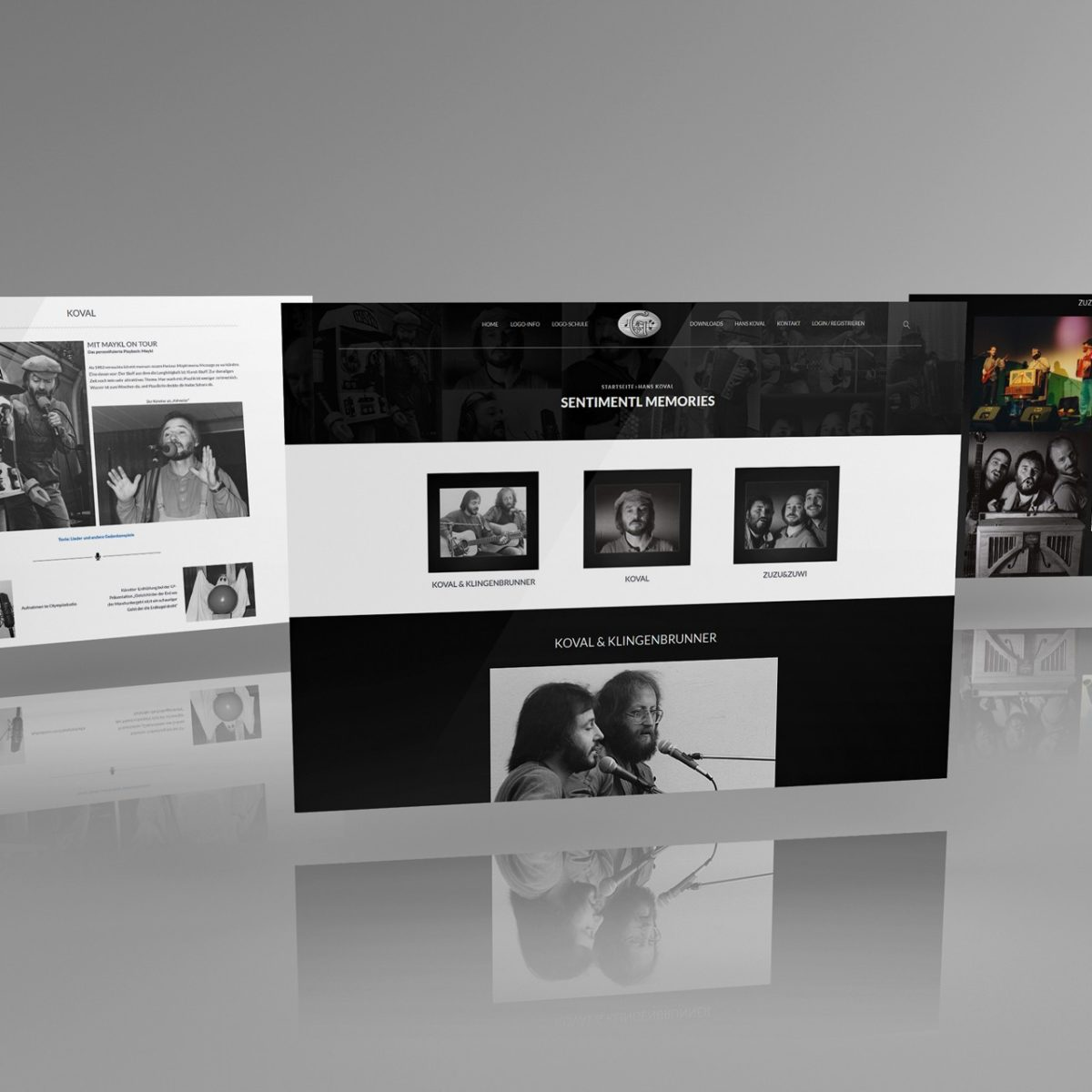 Webdesign Beispielprojekt Hans Koval