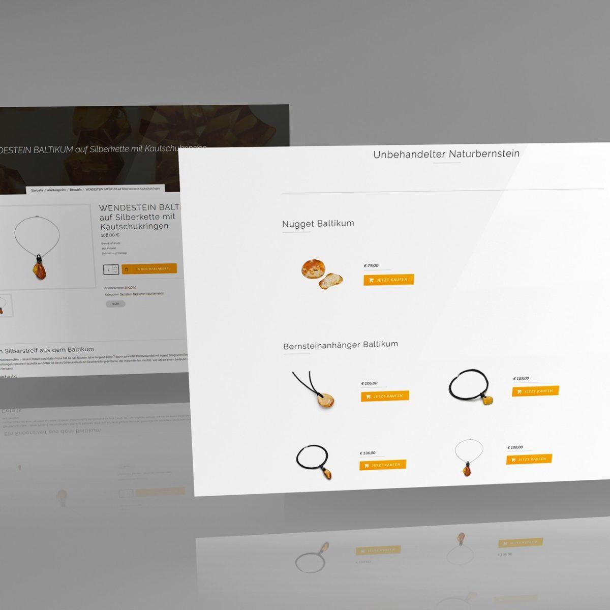 Webdesign Beispielprojekt Wendestein GmbH